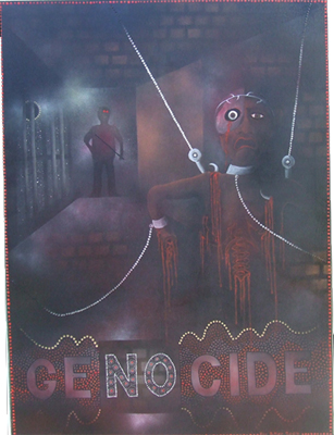 'Genocide' by Kevin Butler, 2004